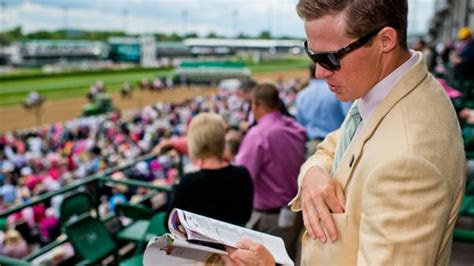 mens kentucky derby style guide americas  racing