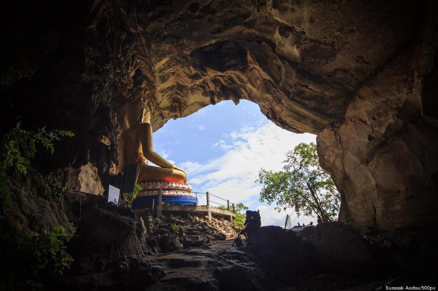 temple cave thailand