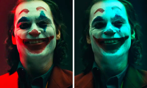 Finally Revealed - Joaquin Phoenix In The Joker Make-Up!