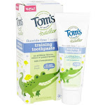 Tom's of Maine Toddler FluorideFree All Natural Training Toothpaste Mild Fruit 1.75 oz.