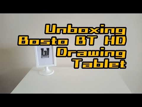 unboxing | bosto 16HD drawing tablet
