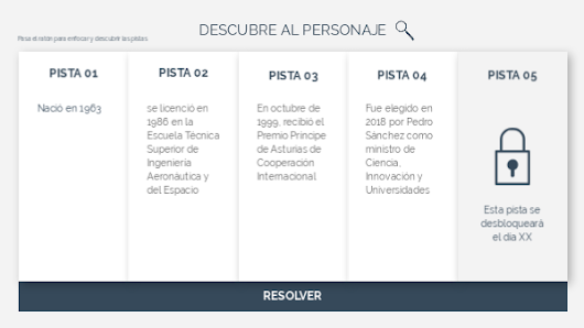 Descrubre al personaje by eLMformacion on Genial.ly
