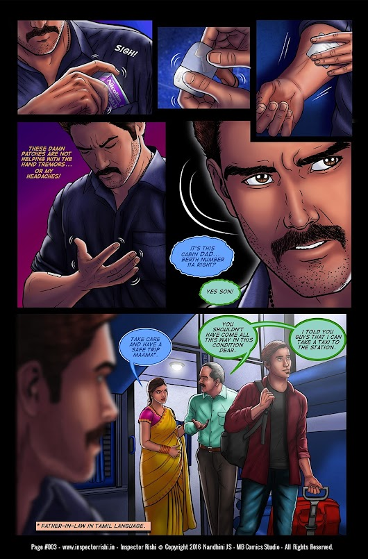 Inspector Rishi - Page 3      Ever heard of the quote 'every pebble...