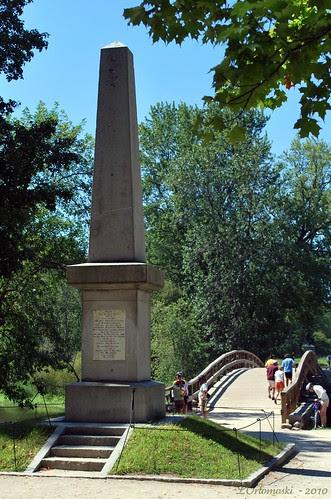 Obelisk at the Old North Bridge