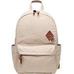 Alternative Basic Cotton Computer Backpack OS Sand , Alternative Apparel