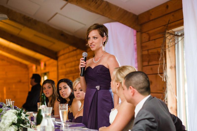 A Wedding reception inside at Williams Tree Farm in Rockton Illinois for a beautiful Autumn wedding.