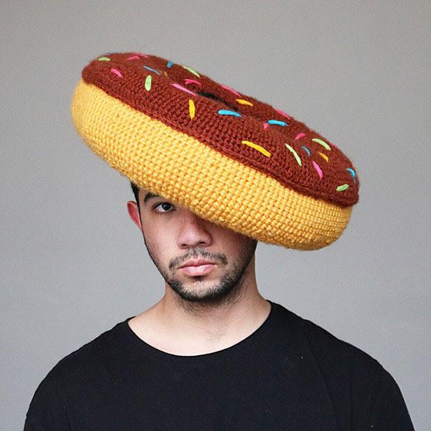 หมวกโครเชต์ โดนัท