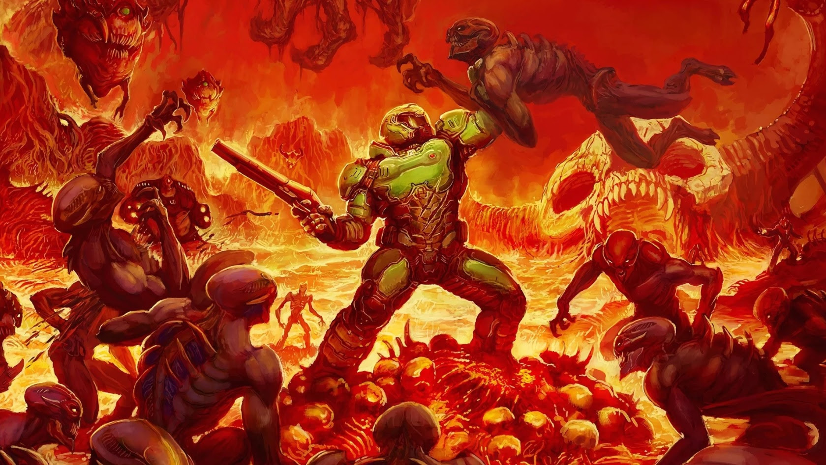 Uhh, I guess there's a new Doom movie...? screenshot