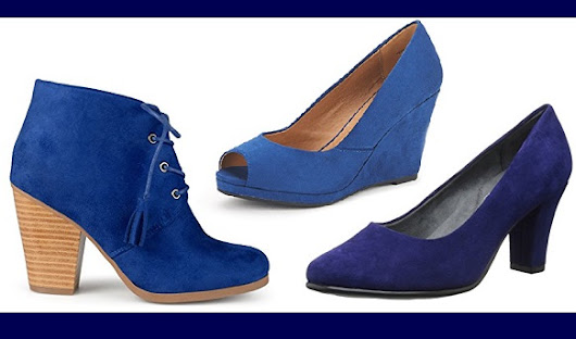 Fashion & Style : Blue Suede Shoes!! Elvis Would Be Pleased!! | WebNuggetz.com