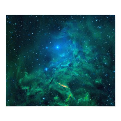 Flaming Star Nebula Photo Print