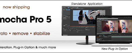 Now Shipping: mocha Pro 5 «  Imagineer Systems