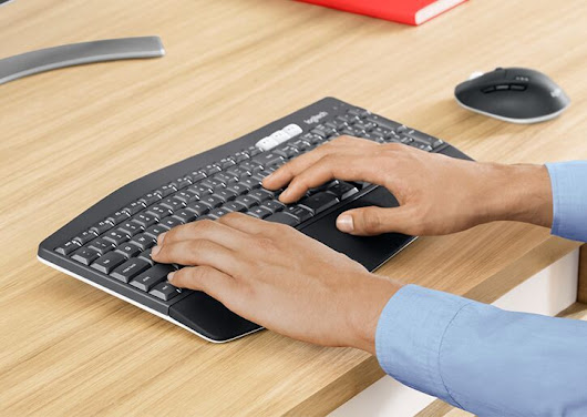 Experience Supreme Comfort with the New Logitech MK850 Performance Wireless Keyboard and Mouse Combo - Blog PROD