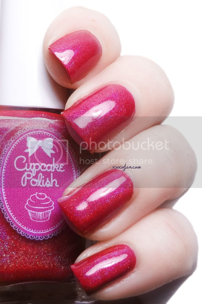 xoxoJen's swatch of Cupcake Polish Just Sleighing Around