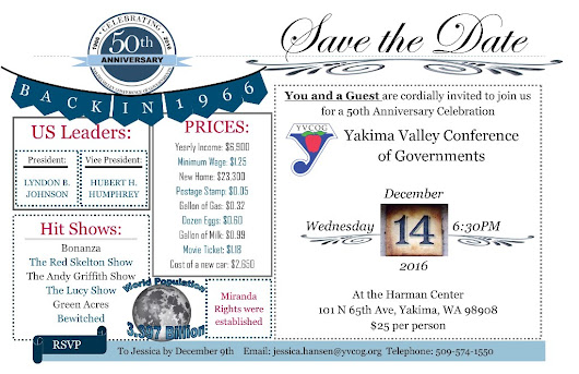 YVCOG's December General Membership Meeting and 50th Anniversary Celebration