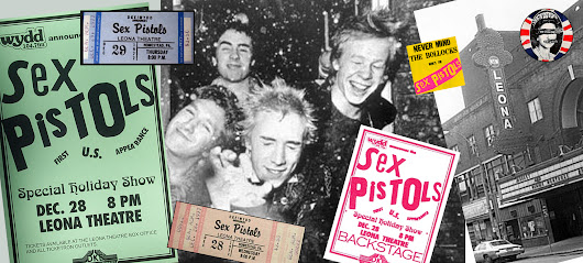 The Sex Pistols Invade America. First Stop: Pittsburgh