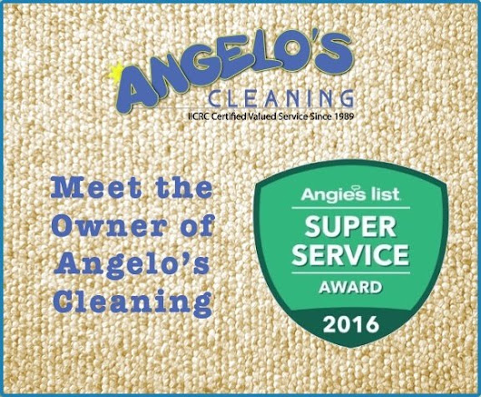 Meet the owner: Angelo Pagnotti -ANGELOS CLEANING
