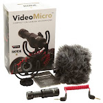 RØDE - VideoMicro On-Camera Cardioid Condenser Microphone
