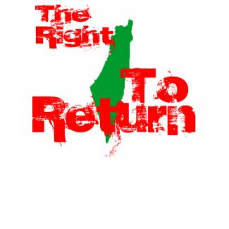 Palestine: The RIght To Return shirt