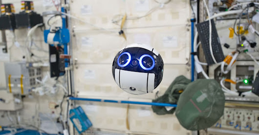 Meet the International Space Station's adorable camera drone