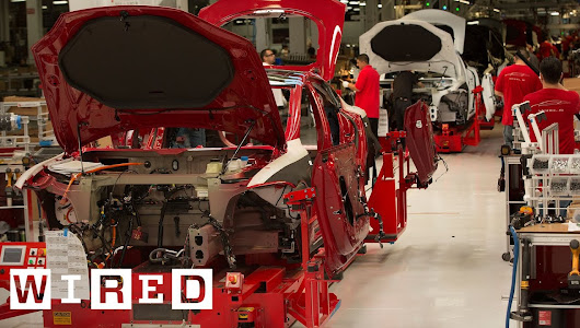 How the Tesla Model S is Made | Tesla Motors Part 1 (WIRED) - vitube.co