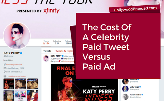A Comparison Of The Paid Ad Tweet Vs The Celebrity Tweet