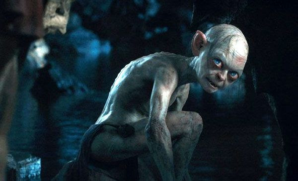 Gollum (Andy Serkis) returns in THE HOBBIT: AN UNEXPECTED JOURNEY.