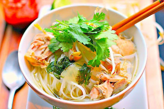 Vietnamese Chicken Noodle Soup...A Big Bowl Copykat - Girl and the Kitchen