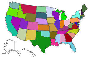 Where We've Been (46 out of 50 States)...Where We Are!
