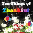 Ten Things of Thankful - Anniversary Edition