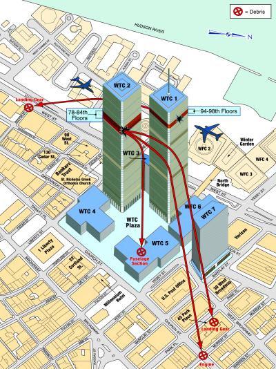Edifícios do WTC.