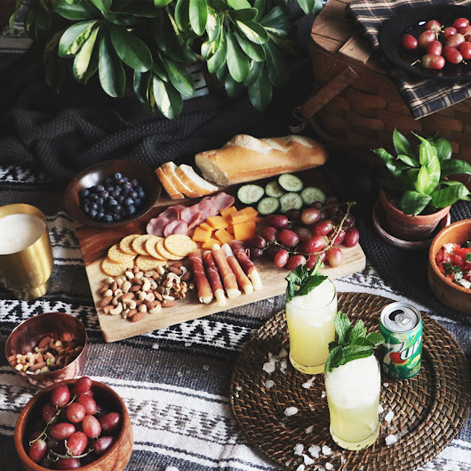 How to Host An Indoor Picnic + A $1,000 Giveaway - The Anastasia Co.