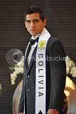 Manhunt International 2011 Bolivia Diego Saucedo Rojas