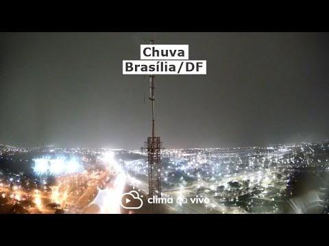 Após mais de 70 dias, chove em Brasília/DF - 30/08/21
