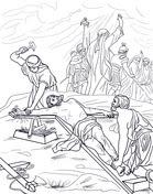 Decimoprimera Estación: Jesús es Crucificado from Viernes Santo