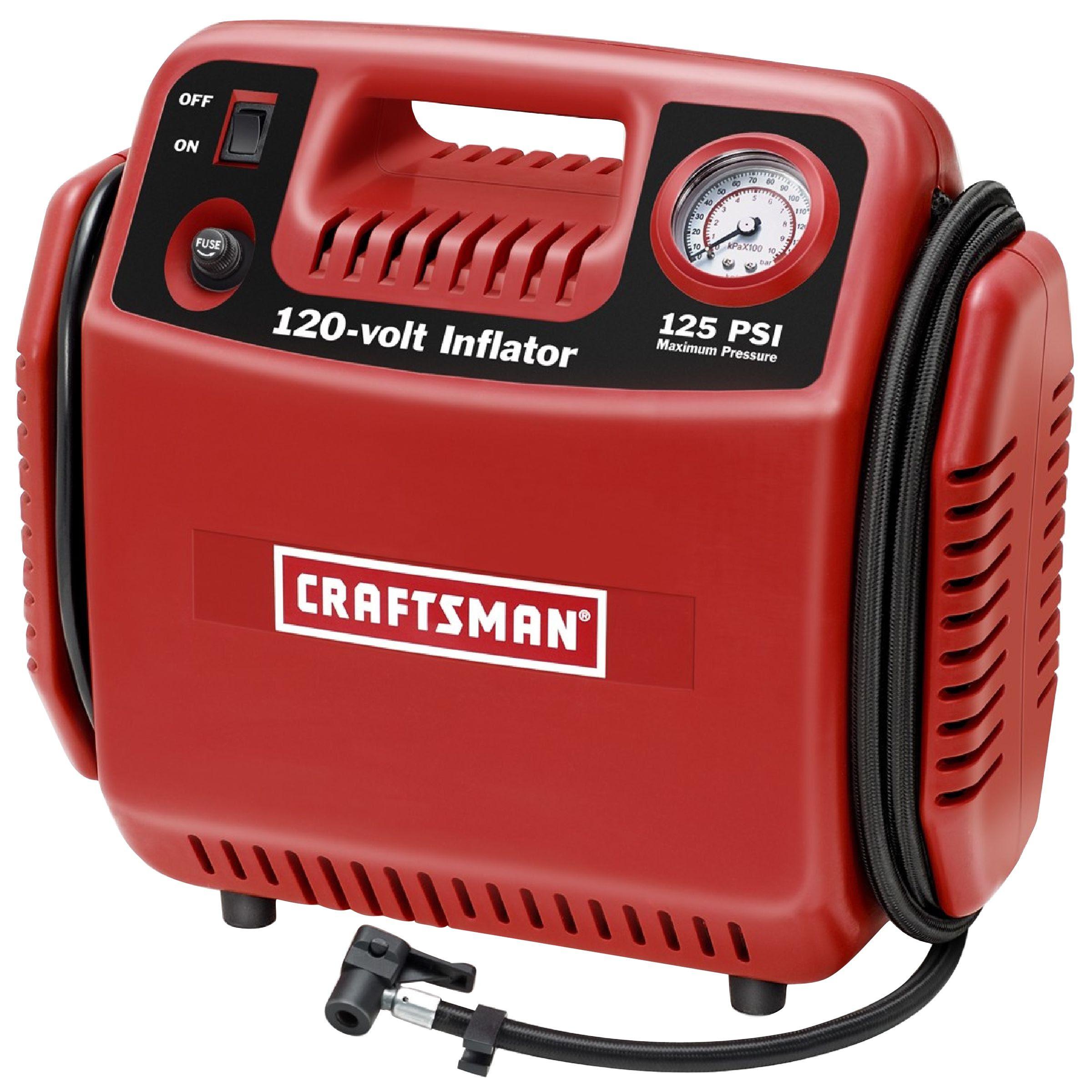 Craftsman 120v Portable Inflator
