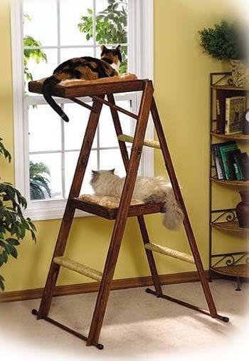 Leap & Sleep Cat Tree