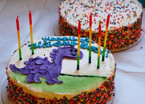 A dinosaur party!