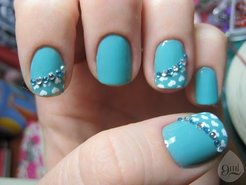 Nail art pics sereia pastel color nail design for 3d nail art salon new jersey