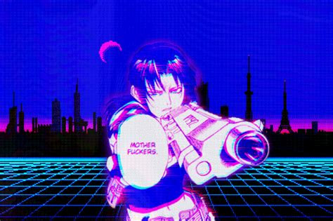 sexy black lagoon gif find share  giphy