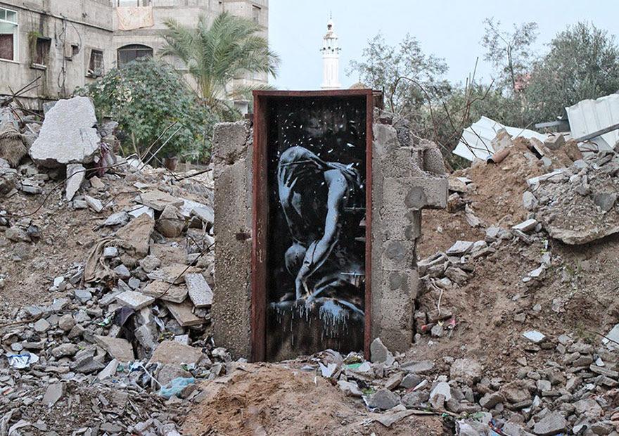 banksy-grafitis-franja-gaza-palestina (4)