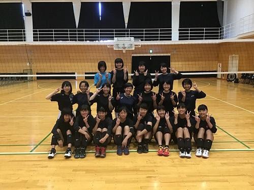 京都府府立乙訓高等学校 部活動 女子バレーボール部