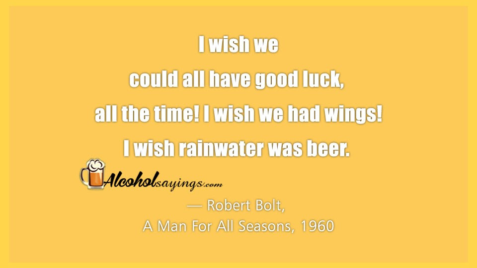 I Wish We Could All Have Good Luck All The Time I Wish We Had