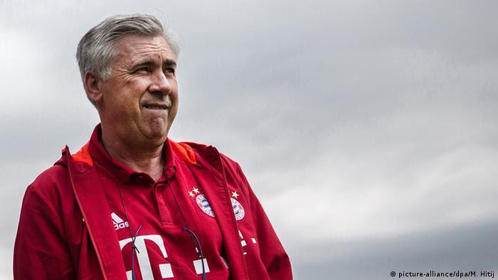 Carlo Ancelotti, Trainer des FC Bayern München (Foto: picture-alliance/dpa/M. Hitij)