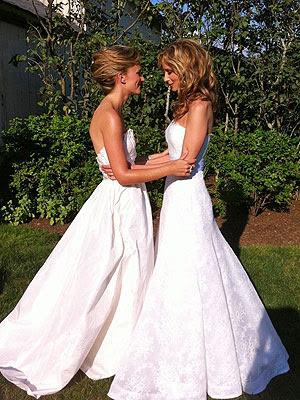 Chely Wright's Wedding Dress Revealed   Chely Wright