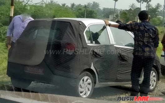 2018 Hyundai Santro Spy Picture And Details- All We Know!