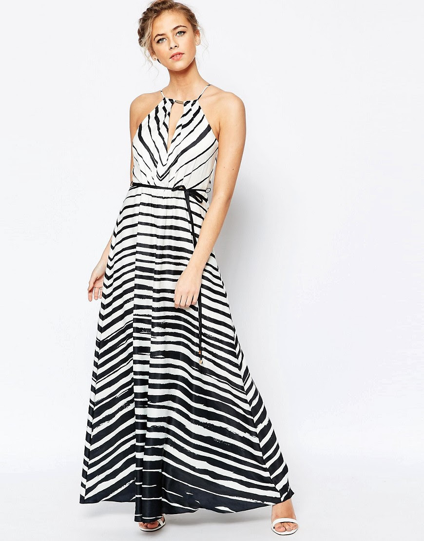 Image 1 of Coast Marseille Maxi Dress in Stripe