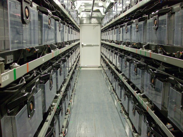 One of AES' lithium-ion facilities