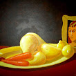 FUNNY TWEEK: hot plus fruit art ever caught by nature