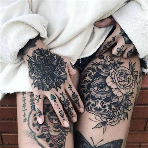 top tattoo ideas hands women