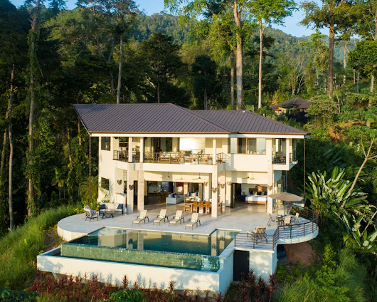3.9 ACRES - 4 Bedroom Brand New Luxury Ocean View Home With Infinity Pool!!! - Costa Rica Real Estate